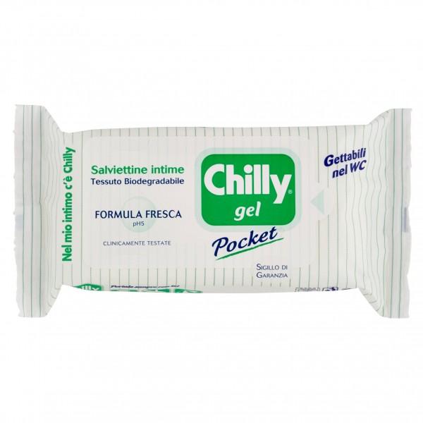 CHILLY SALVIETTINE GEL FORMULA FRESCA CONFEZIONE DA 12