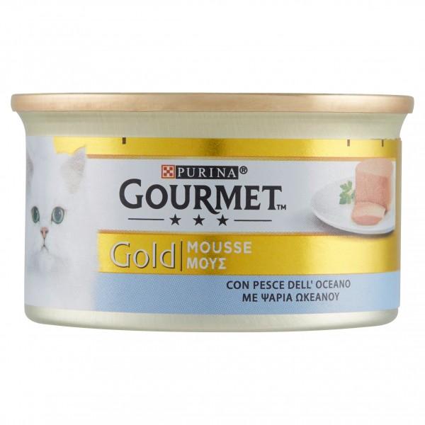 GOURMET GOLD MOUSSE PESCE GR85