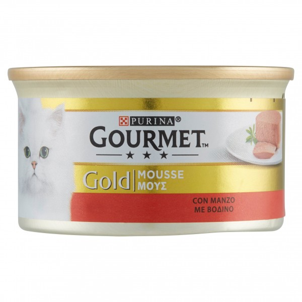GOURMET GOLD MOUSSE MANZO G85