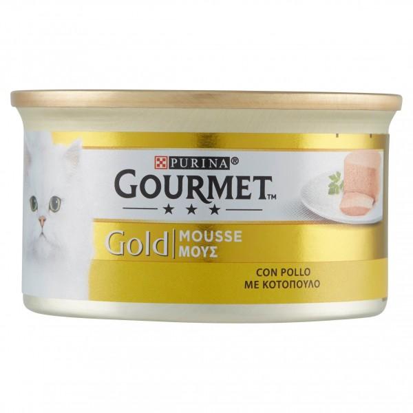 GOURMET GOLD MOUSSE POLLO GR85