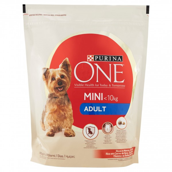 ONE MY DOG IS..MANZO/RISO 800g