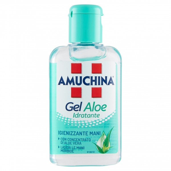 AMUCHINA GEL MANI 80ML ALOE