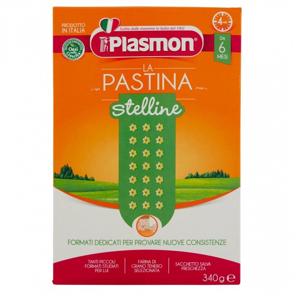 PLASMON PASTINA STELLINE GR340
