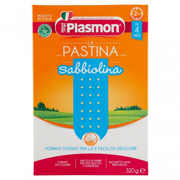 PLASMON PASTINA SABBIOL.320