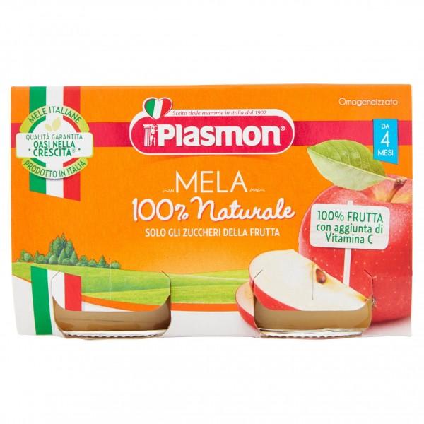 PLASMON OMO MELA 10 g4X2