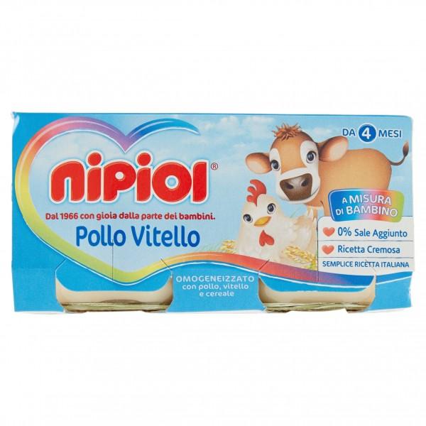 NIPIOL OMO VIT/POLLO 80 gX2