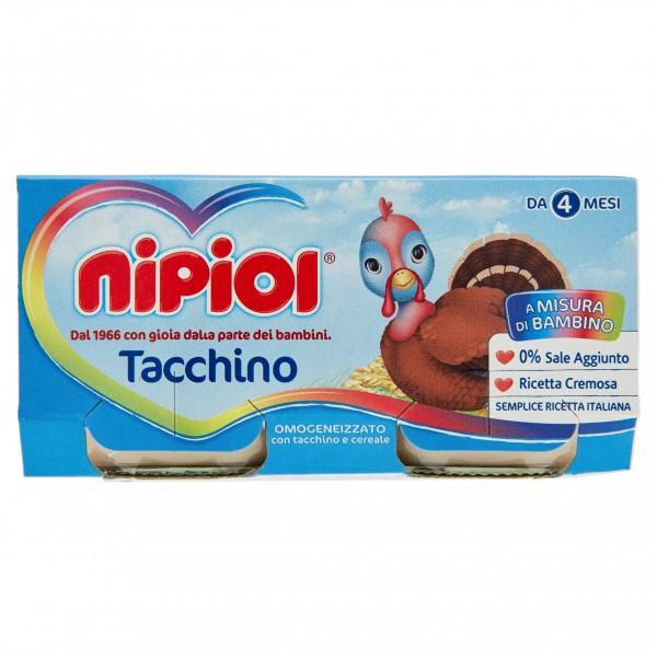 NIPIOL OMO TACCHINO 80 gX2