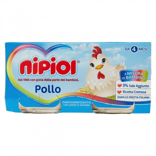 NIPIOL OMO POLLO 80 gX2