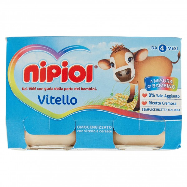 NIPIOL OMO VITELLO g120x2