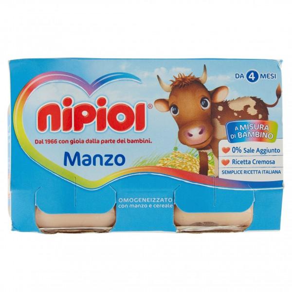 NIPIOL OMO MANZO g120x2