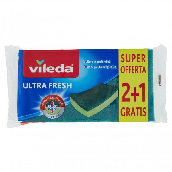 VILEDA SPUGNA ULTRA FRESH 2+1
