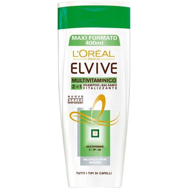 ELVIVE SHAMPOO 285 ML MULTIVITAMINE  2 IN 1