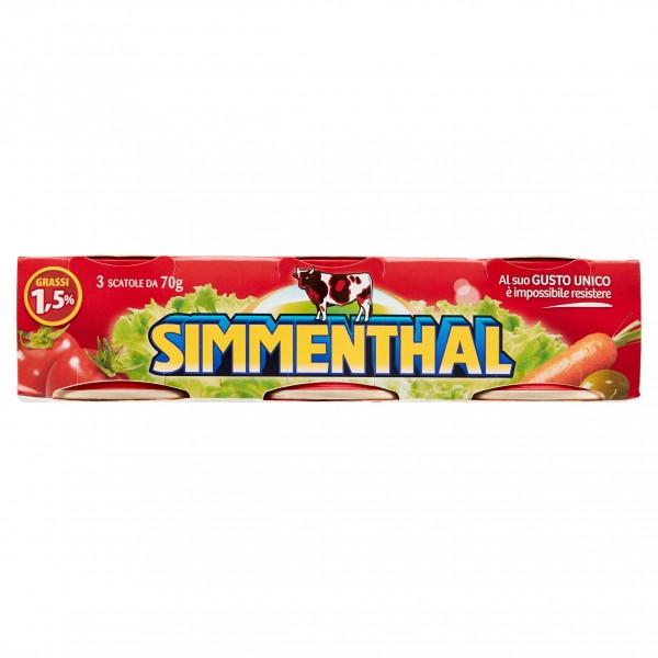 SIMMENTHAL TRIS 70 GR