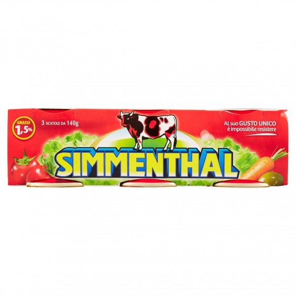 SIMMENTHAL TRIS 140 GR