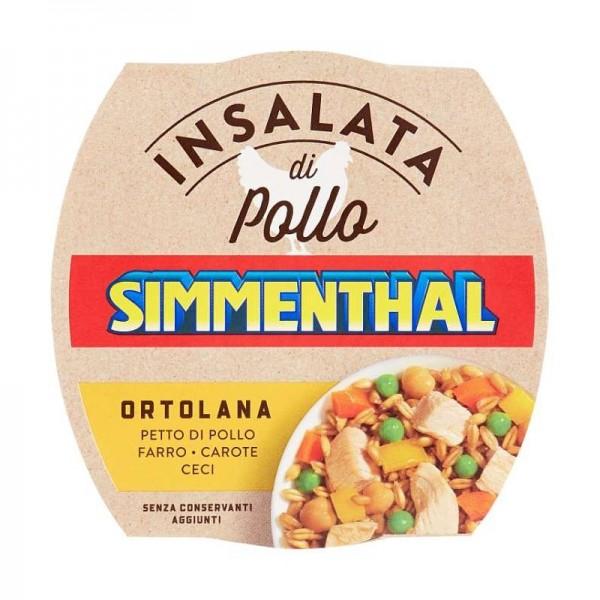 SIMMENTHAL INSALATA POLLO ORTOLANA