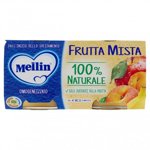 MELLIN OMO FRUTTA MISTA 2X100