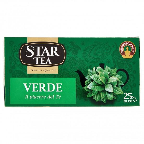 STAR TEA VERDE 25 FILTRI