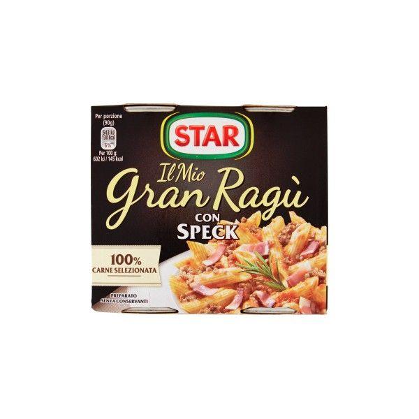 STAR RAGU' TRIS SPECK CONFEZIONE DA 3 PER 100 GR