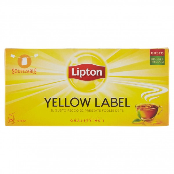 LIPTON TEA CLASSICO 25 FILTRI