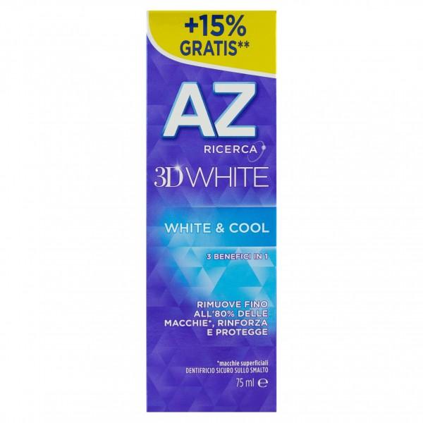 AZ DENT.75ML 3D WHITE&COOL