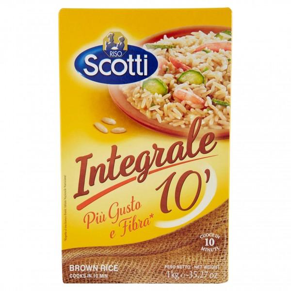 SCOTTI RISO INTEGRALE 1kg 10MI