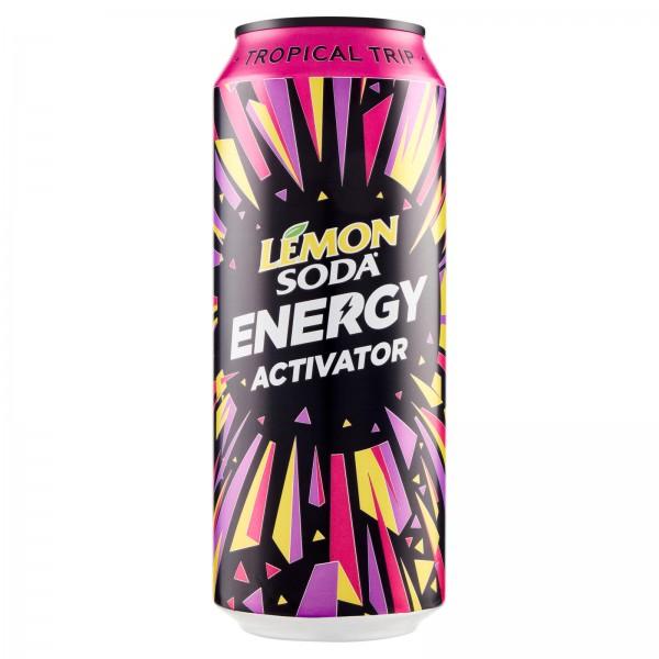 LEMONSODA ENERGY TROPICAL 50CL