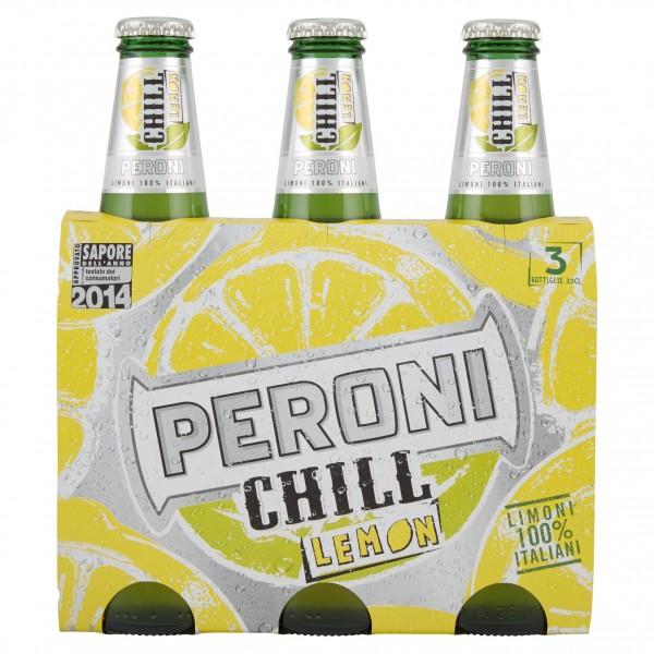 PERONI BIRRA CHILL LEMON 3X33C