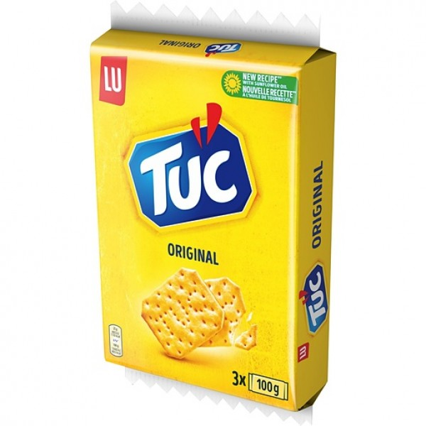 TUC ORIGINAL CONFEZIONE DA 3 PER 100 GR