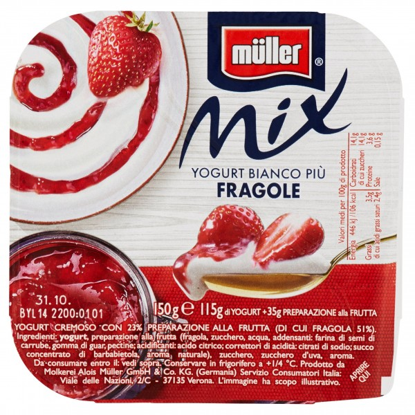 MULLER MIX BIAN/FRAGOLE 1X150