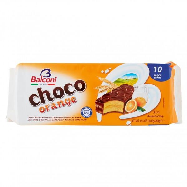 BALCONI CHOCO ORANGE 350 g