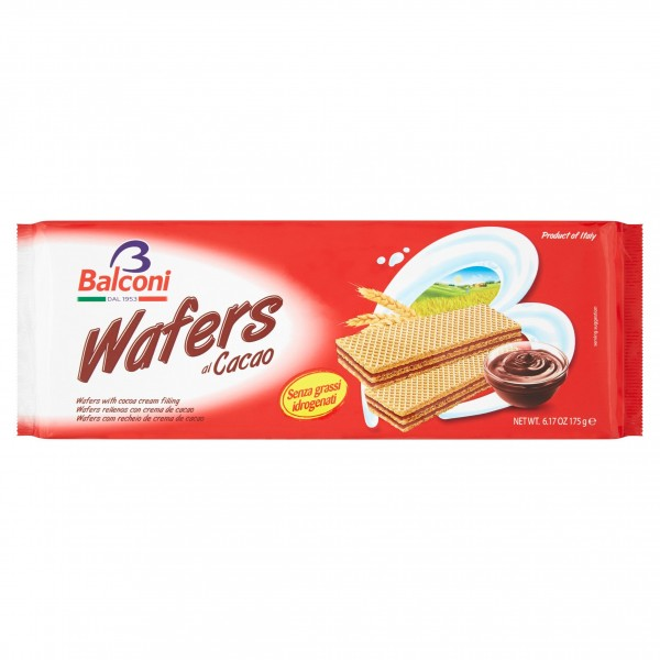 BALCONI WAFERS CACAO 175 GR