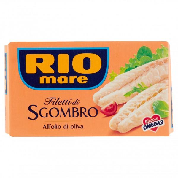 RIO MARE FILETTI SGOMBRO OLIO D'OLIVA 125 GR