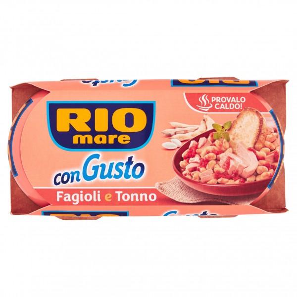 RIO MARE CON GUSTO FAGIOLI CONFEZIONE DA 2 PER 160 GR