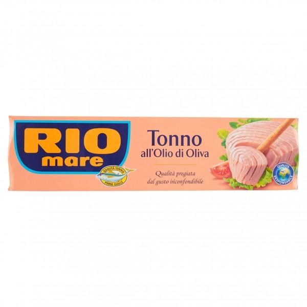 RIO MARE TONNO OLIO D'OLIVA CONFEZIONE DA 4 PER 80 GR