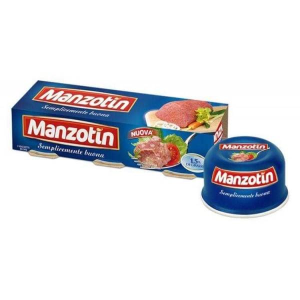 MANZOTIN LESSATA CONFEZIONE DA 3 PER 90 GR