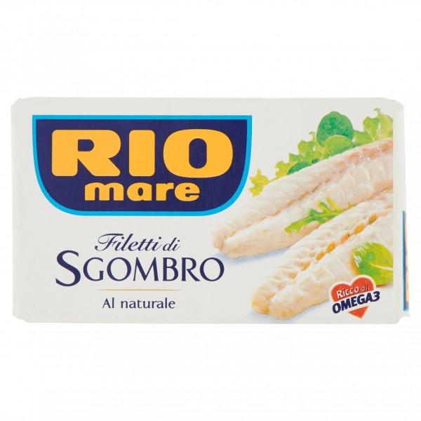 RIO MARE FILETTO SGOMBRO NATURALE 125 GR