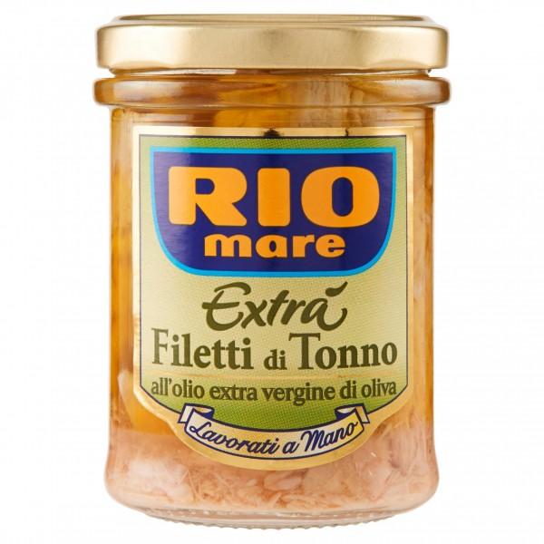 RIO MARE FILETTI DI TONNO OLIO EXTRA VERGINE D'OLIVA 180 GR