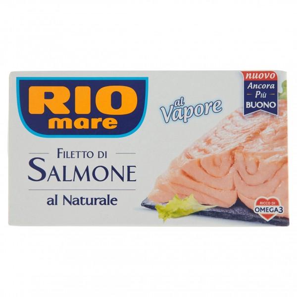 RIO MARE FILETTI SALMONE NATURALE 125 GR