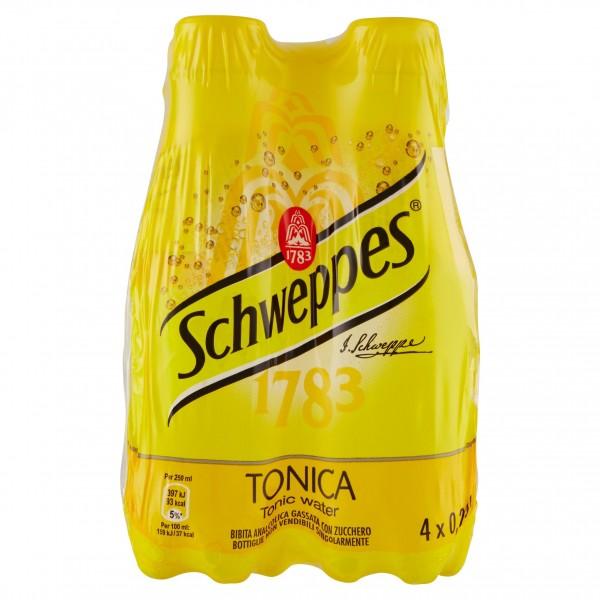 SCHWEPPES TONICA PET 4 DA 25 CL