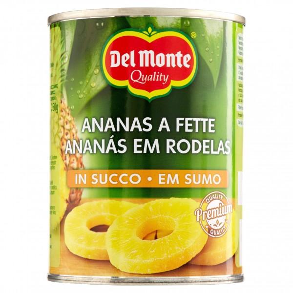 DEL MONTE ANANAS NATURALE FETTE 565 GR