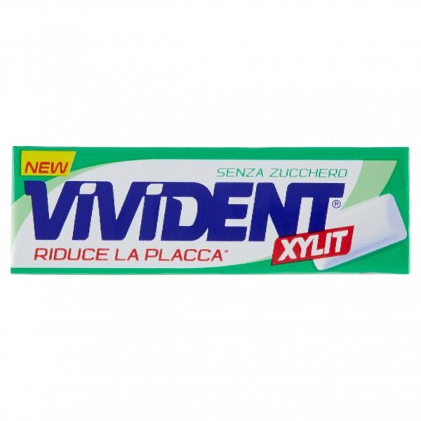 VIVIDENT XYLIT GREEN MINT SENZA ZUCCHERO