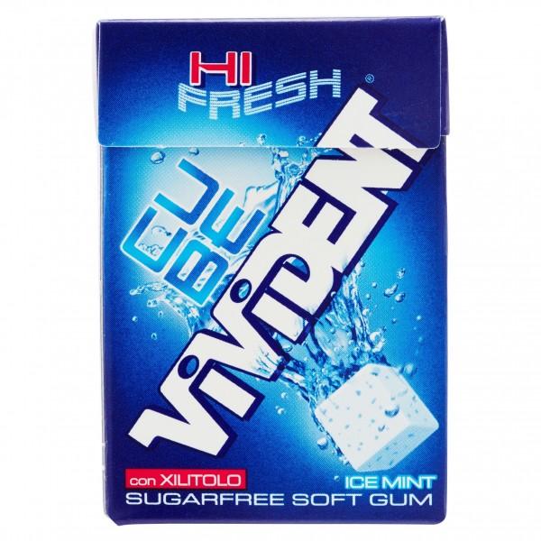 VIVIDENT CUBE ICE BLUE MINT DA 20