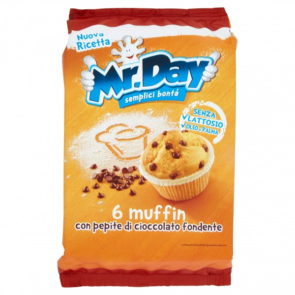 MR DAY MUFFIN CLASSICI CONFEZIONE DA 6 252 GR