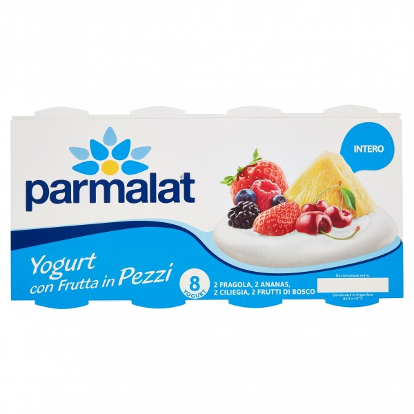 PARMALAT YOGURT INT.PZ.FR.125X8