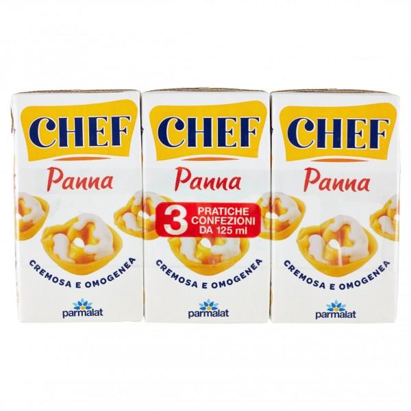 PARMALAT CHEF PANNA CLASSICA UHT 3x125ml