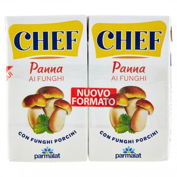PARMALAT CHEF PANNA AI FUNGHI PORCINI 2X125ml