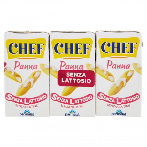 PARMALAT CHEF PANNA S/LATTOSIO 3X125ml