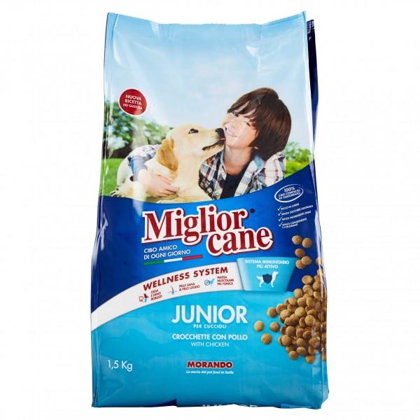 MIGLIOR CANE CROCCANTINO JUNIOR 1,5 KG