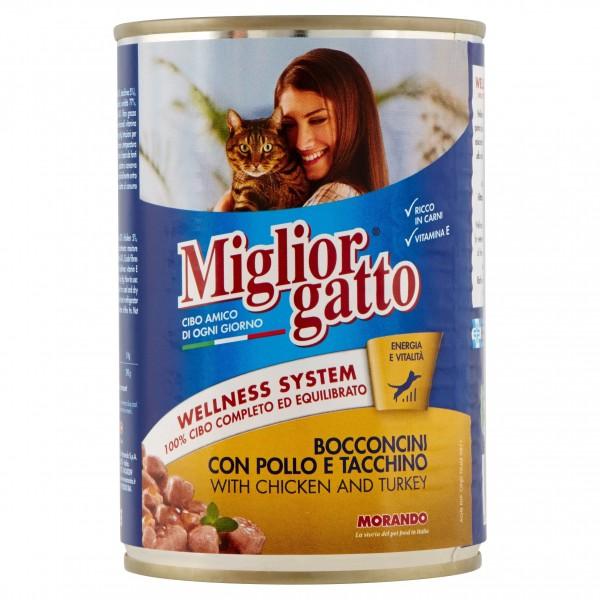 MIGLIOR GATTO BOC.400GR POL/TA