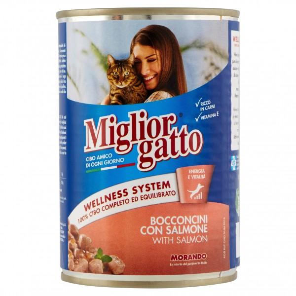 MIGLIOR GATTO BOC.400GR SALMON